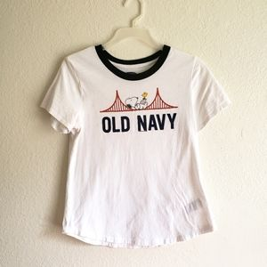 Old Navy Snoopy Peanuts San Francisco Golden Gate